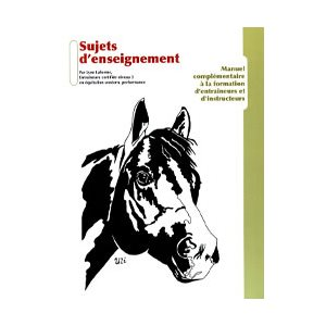 LIVRE SUJECT DENSEIGMENT EQUEST WESTERN