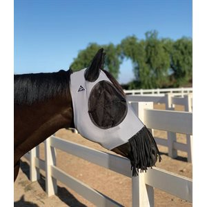 LYCRA MASK HORSE CHARCOAL