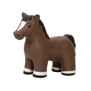 HORSE STRESS RELIEVER BROWN