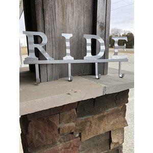 "RIDE METAL SIGN 4"""