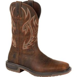 MENS TRAIL BOOT BROWN ROCKY