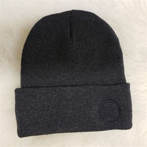 TUQUE A REBORD CHARCOAL