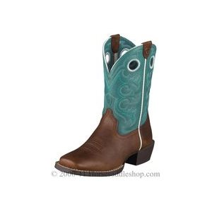 KIDS BOOTS ARIAT CROSSFIRE TURQUOISE