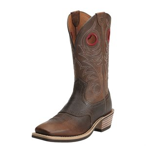 BOTTE ARIAT HOMME HERITAGE ROUGHSTOCK BROWN ROWDY