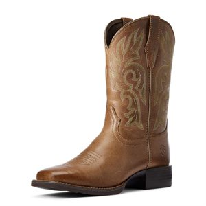 LADIES CATTLE DRIVE DUSTY BROWN ARIAT BOOTS