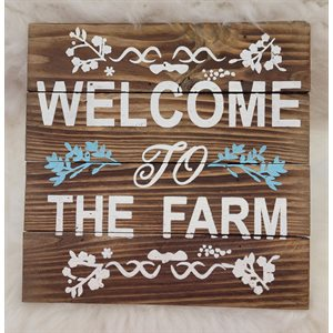 Déco ''Welcome to the farm'