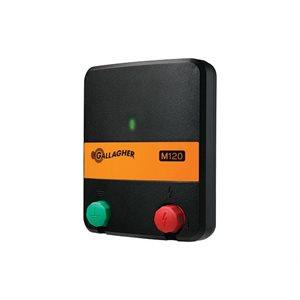 Électrificateur - Gallagher M120, 1.2 joules
